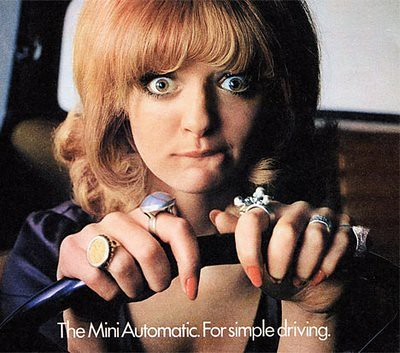 The MiniAutomatic. For simple driving.