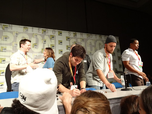 Comic Con 212: Grimm panel