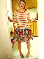 Amber in Betty skirt