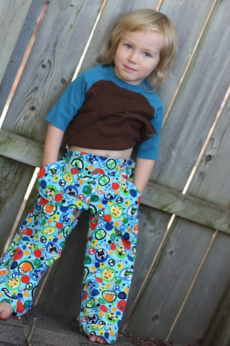 Will models the crazy pants