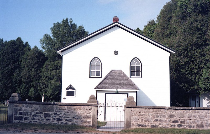 Country Church in Colour
