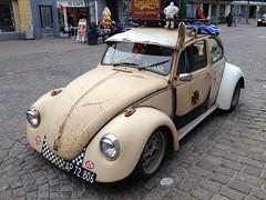 VW beetle spotted in Sønderborg