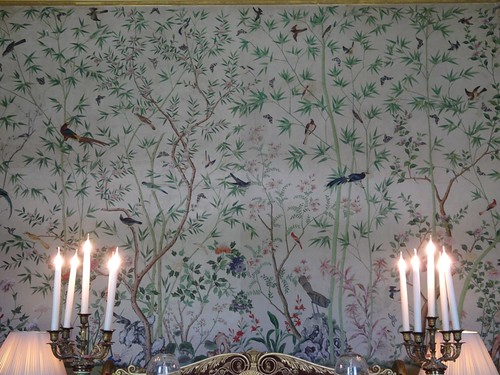 Handpainted Wallpaper at Chatsworth