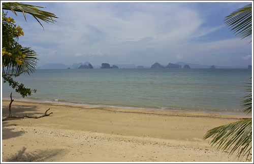 East coast beach on Koh Yao Noi