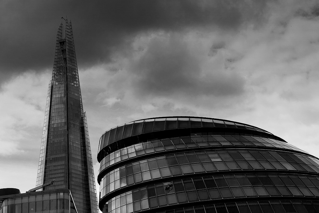 When Renzo Piano meets Norman Foster (The Shard & London City Hall)