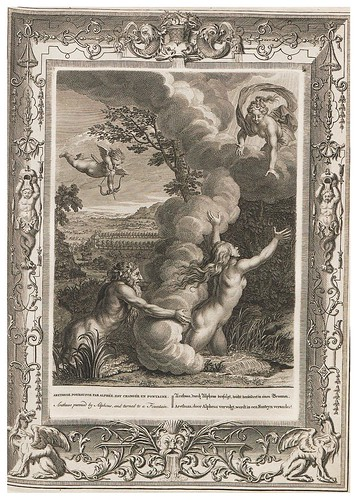 012-Neueröffneter Musen-Tempel…1754-Bernard Picart-© UniversitättBibliotheK Heidelberg