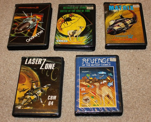 Llamasoft games collection for the C64