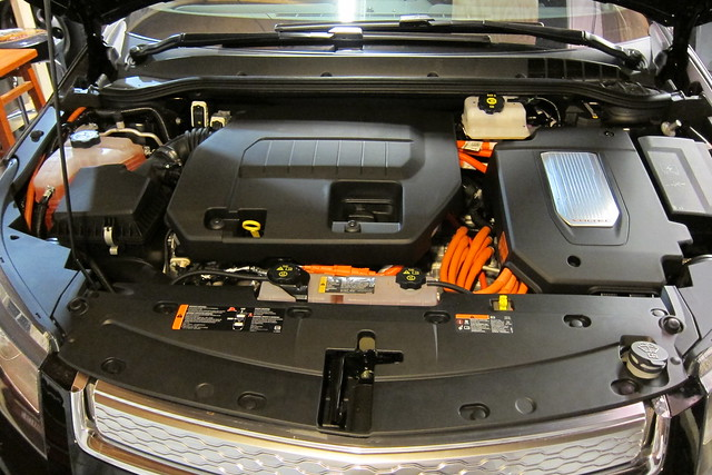 2012 Chevy Volt - Engine / Motor Compartment