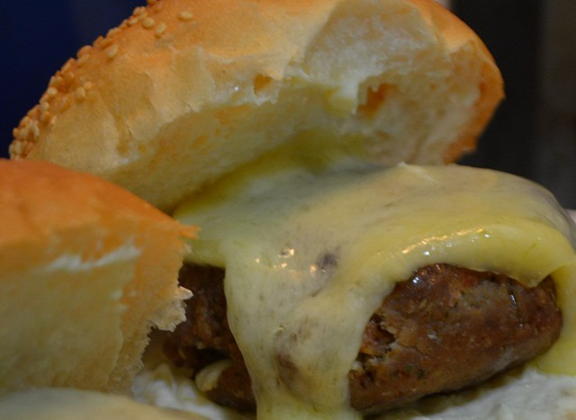 jalapeno burgers with Cabot Cheese