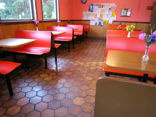 Kwik Shoppe Restaurant Interior