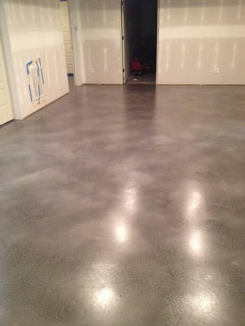 gray stained concrete basement in lynchburg va flickr photo