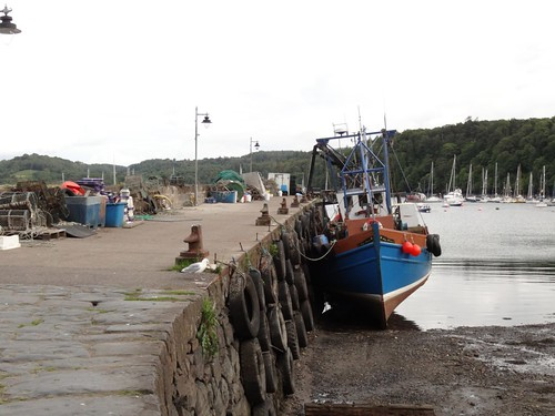 Working Quay in Tobermory