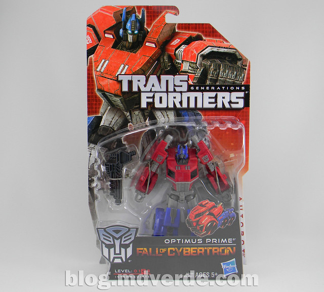 Transformers Optimus Prime Deluxe - Generations FoC - caja