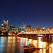 Portland, OR Skyline - Hawthorne Bridge by Pirtz