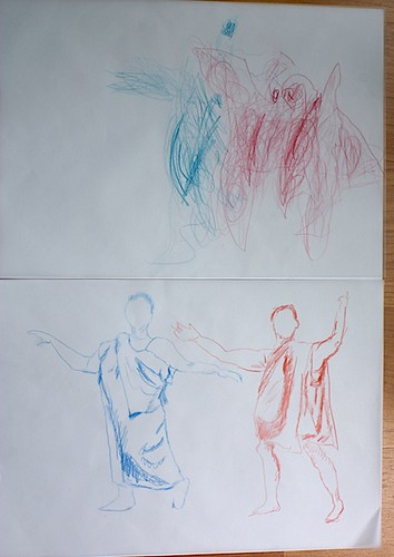 Sketching from model