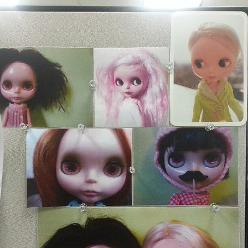 Part of my cubicle wall :)