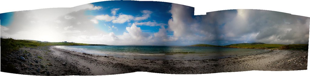 irish beach, connemara