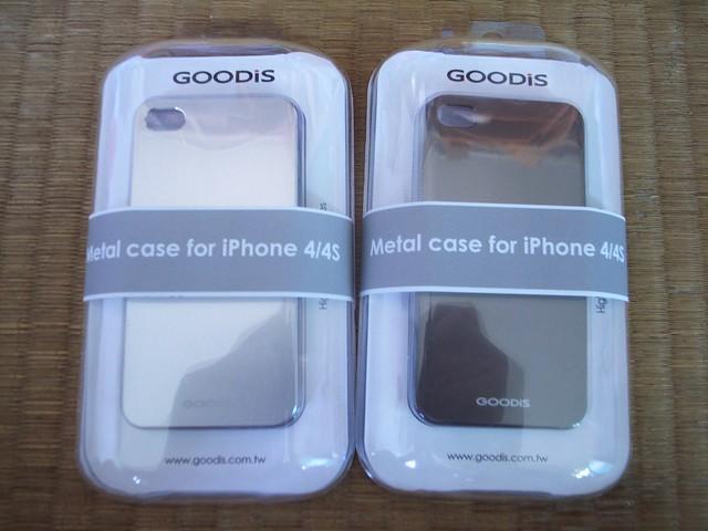 GOODiS:iPhone4/4S超輕薄頂級鋁合金保護背蓋