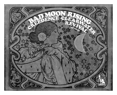 1969 Bad Moon Rising by Creedence Clearwater Revival ad