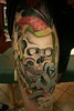 In progress skull tattoo tattoo by John