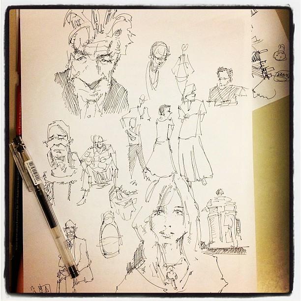 Nigth doodles