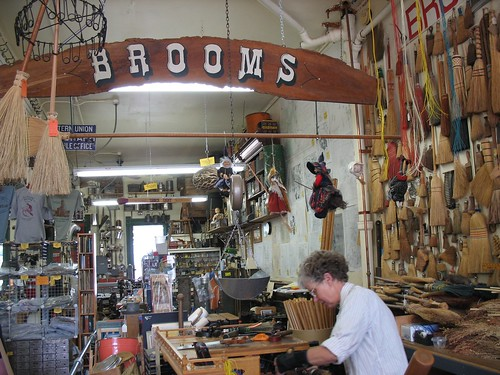 Brooms Sign