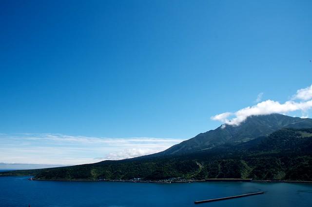 ペシ岬から利尻富士