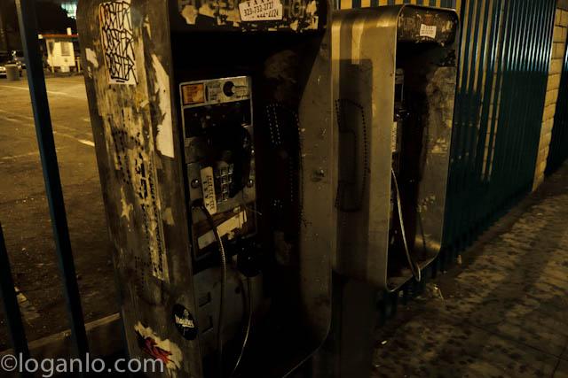 Public phones in LA