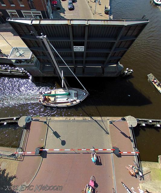 Bridge in Sneek, the Netherlands