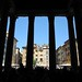 Looking out from The Pantheon, Rome