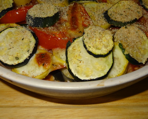 Zucchini, Summer Squash and Cheese