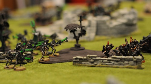 Necron vs Chaos Faceoff