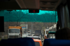 Les embouteillages de Moscou