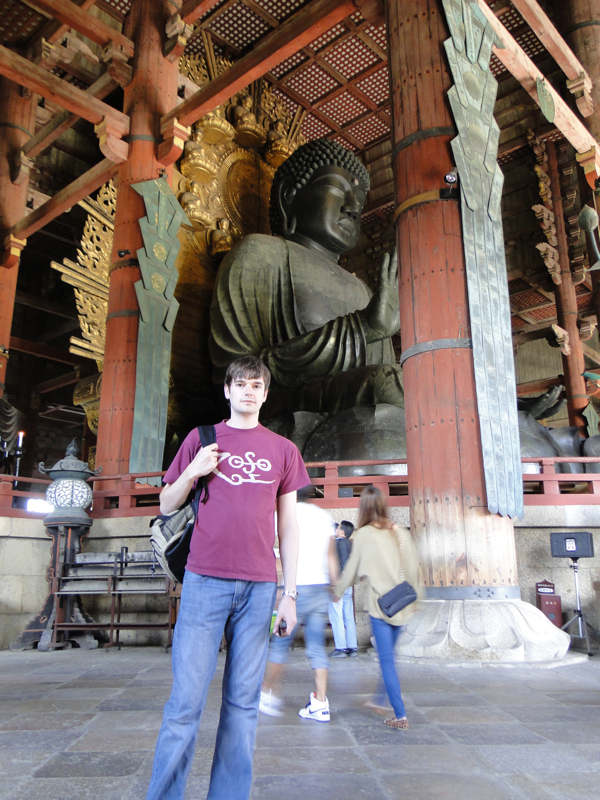 Fabric Paper Glue in Japan - Nara Bronze Buddha