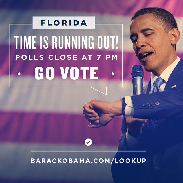 Polls close at 7 pm in Florida