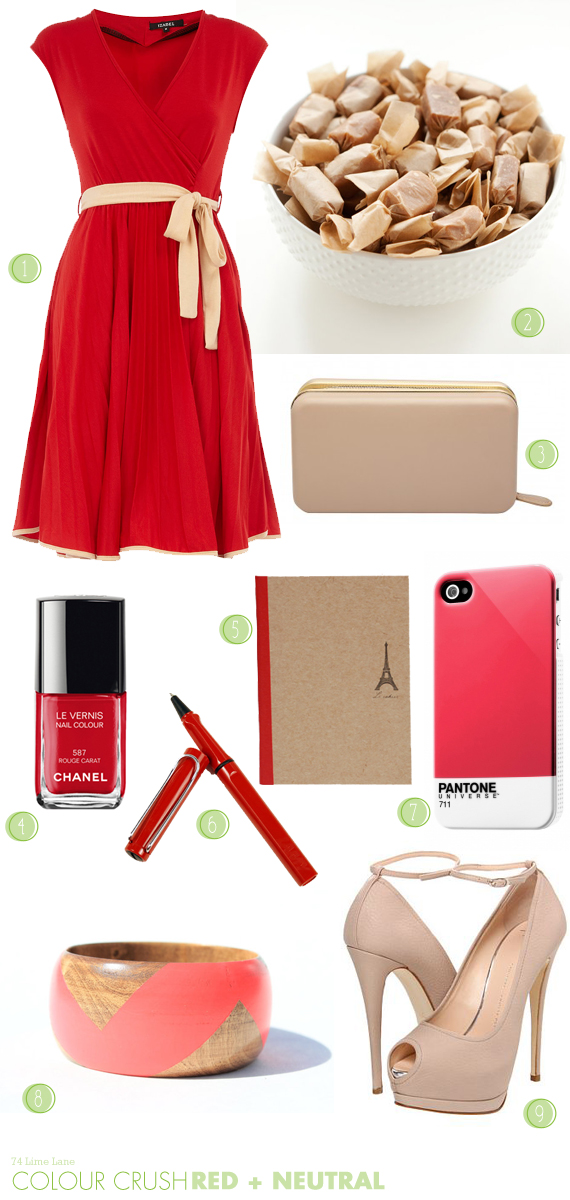 {colour crush} red and neutral