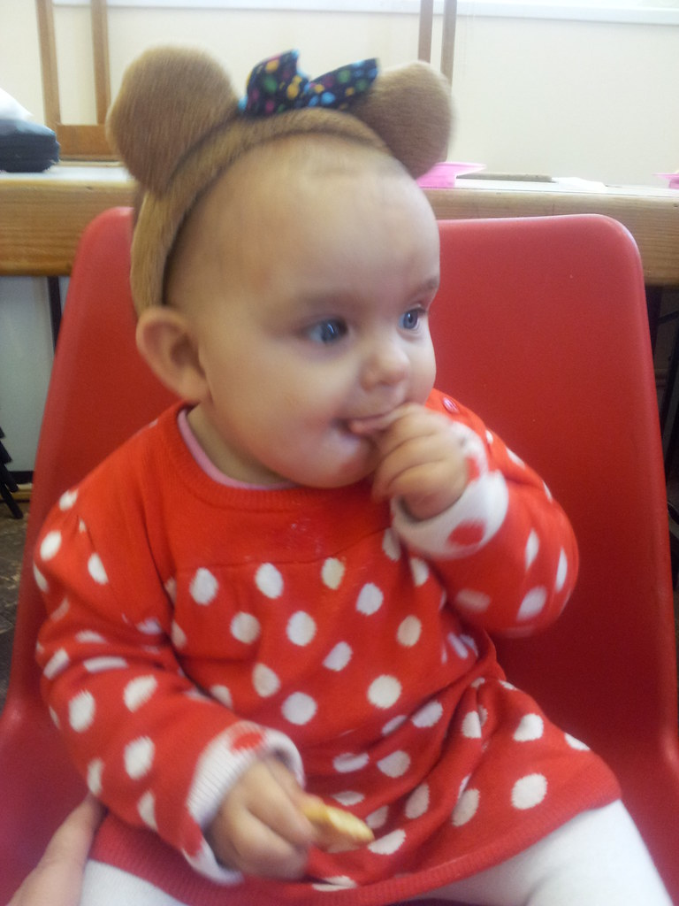 , Isabelle goes Spotty for Children in Need #NaBloPoMo Day 8