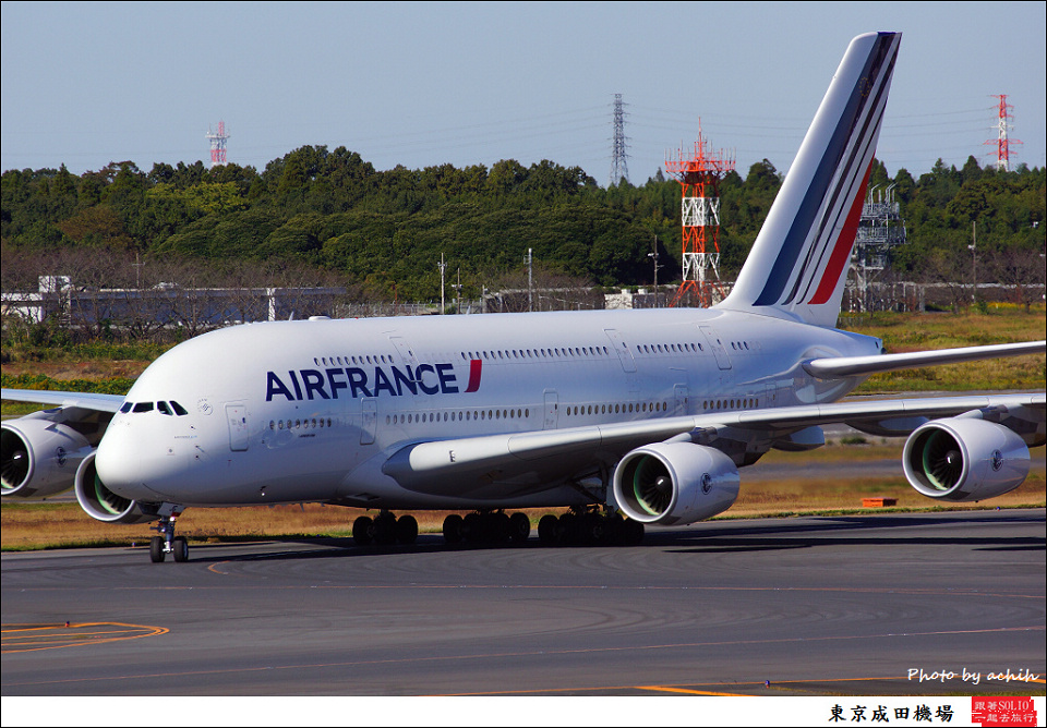 Air France / F-HPJG / Tokyo - Narita International