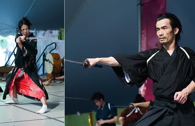Samurai Sword Soul. Photos by Jason Gardner.