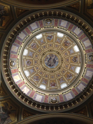 Kuppel in der Stephans Basilika
