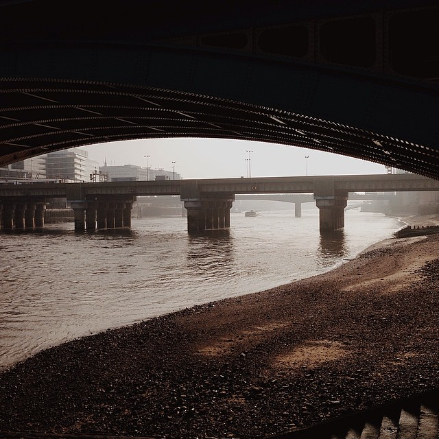 Fog on the... Thames #vscocam