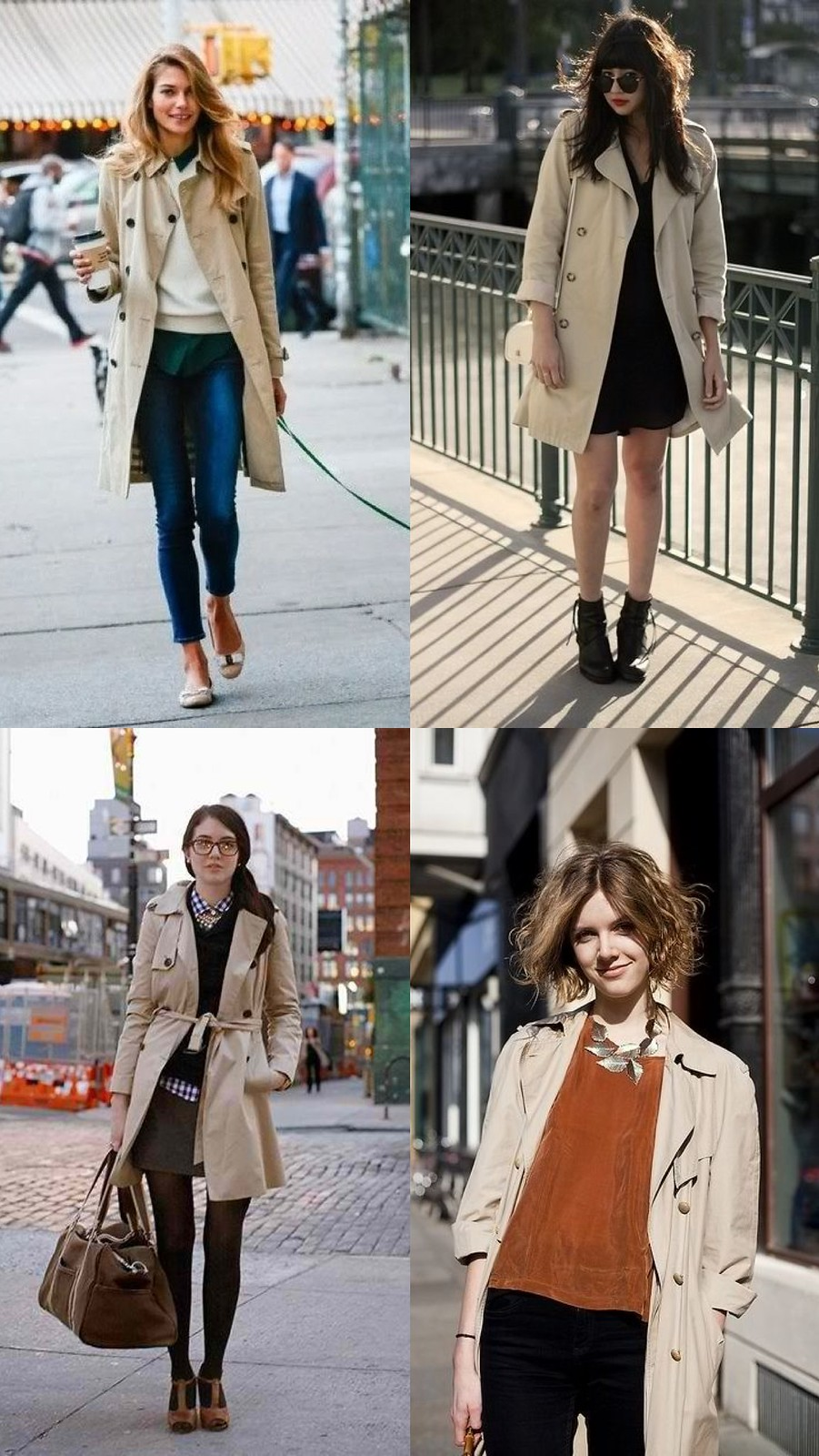 Trench coat ideas: work days