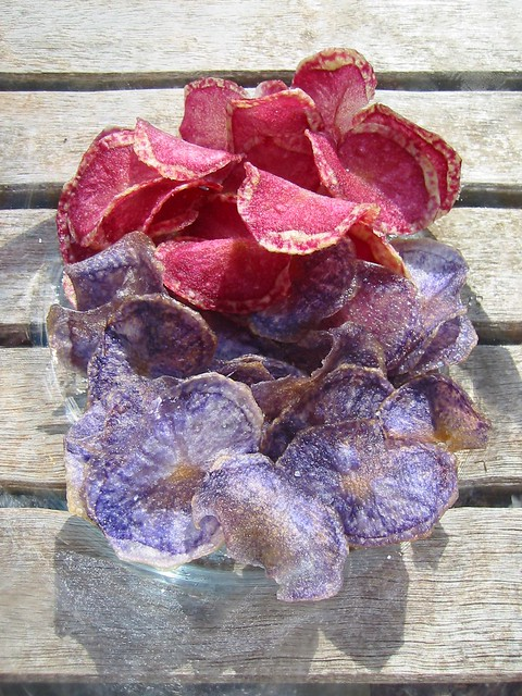 coloured crisps