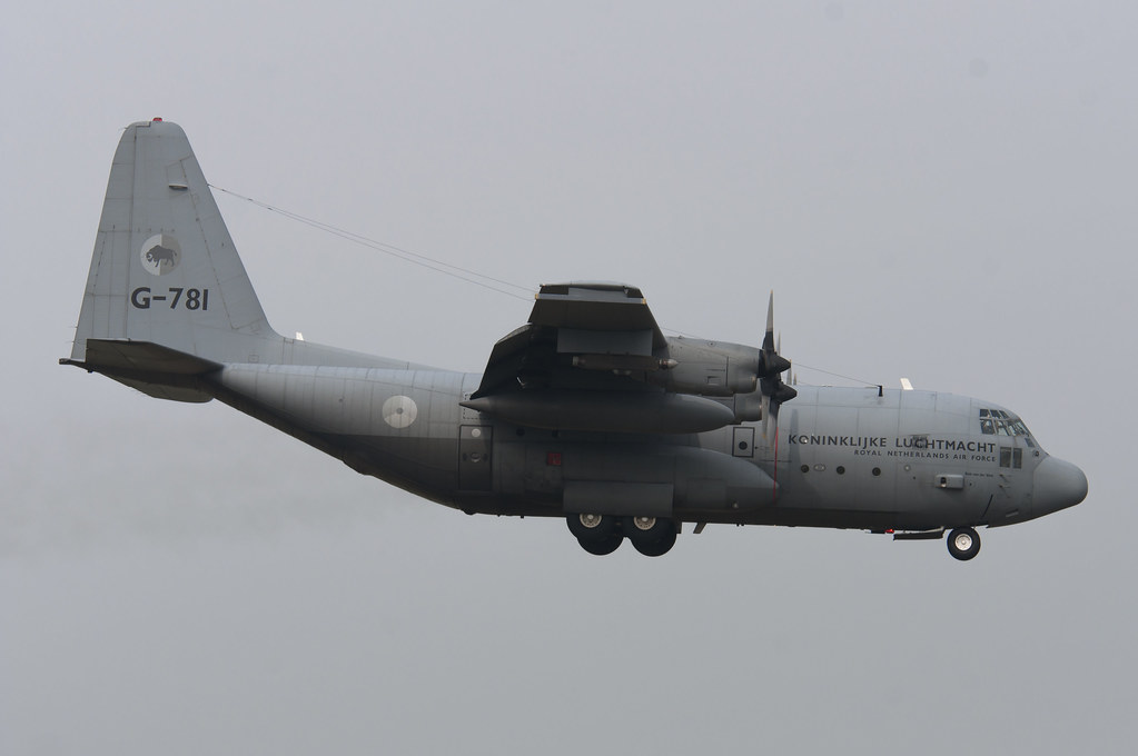 G-781 - C130 - Royal Netherlands Air Force