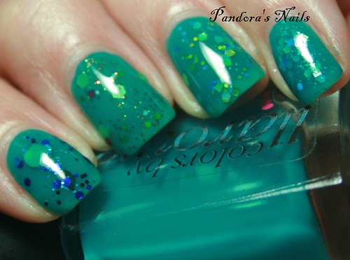 colors by llarowe ocean water with glitters