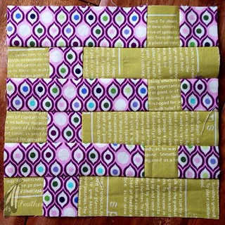 Tula Pink City Sampler Block #59