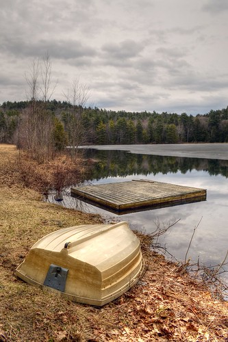 trees lake ice rural season landscape boats boat early monterey spring fishing dock pond scenery peace seasons bare massachusetts rustic scenic newengland peaceful scene area boating rowboat recreation tranquil dinghy tranquillity berkshirecounty steadmanpond