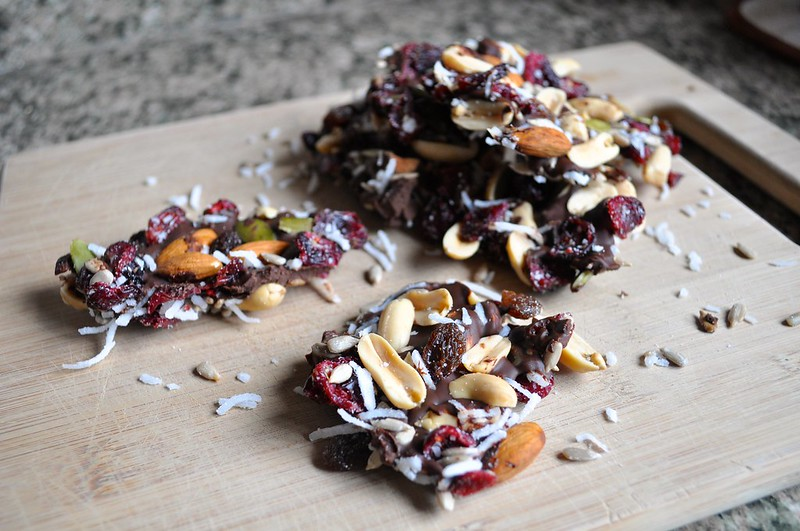 Chocolate Drizzled Trail Mix
