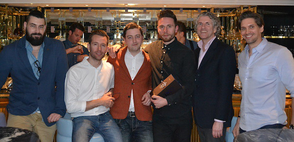 The Chivas Masters UK London Winners and judges