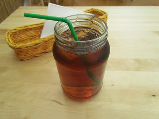 Turkish Delight Iced Tea at Two-Bit Villains